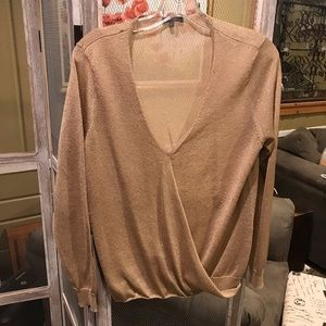 Vince Camuto Gold Sweater